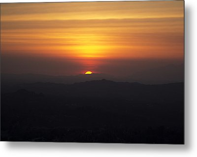 Sunset View  Metal Print by Molly Heng