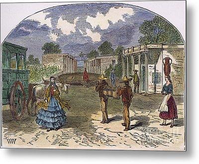 Texas: El Paso, 1860s Metal Print by Granger