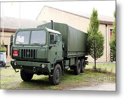 The Iveco M250 8 Ton Truck Used Metal Print by Luc De Jaeger