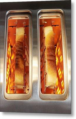 Toast Metal Print by Mark Sykes