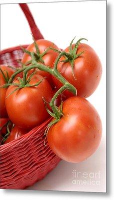 Tomatoes Metal Print by Bernard Jaubert