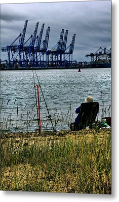Watching The World Go By Metal Print by Darren Burroughs