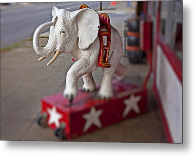 White Elephant Metal Print by Garry Gay