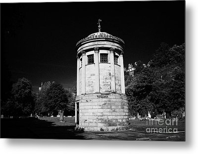 William Huskisson Memorial In St James Cemetery Liverpool Merseyside England Uk  Metal Print by Joe Fox