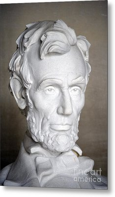 Abraham Lincoln (1809-1865) Metal Print by Granger
