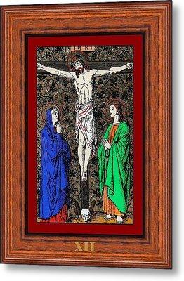 Drumul Crucii - Stations Of The Cross  Metal Print by Buclea Cristian Petru