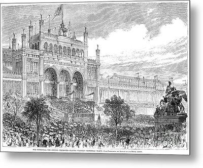 Centennial Fair, 1876 Metal Print by Granger