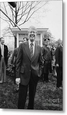 Jimmy Carter (1924- ) Metal Print by Granger