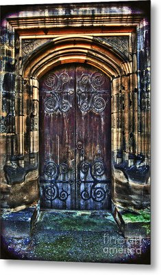 14th Century Door Metal Print by Yhun Suarez