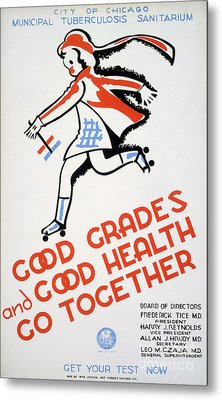 New Deal: Wpa Poster Metal Print by Granger