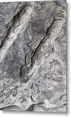 Natures Rock Art Metal Print by Jack R Brock