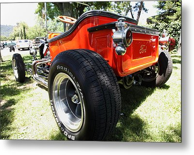1923 Ford T-bucket . 5d16459 Metal Print by Wingsdomain Art and Photography