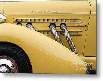 1935 Auburn 851 Sc Speedster Detail - D008160 Metal Print by Daniel Dempster
