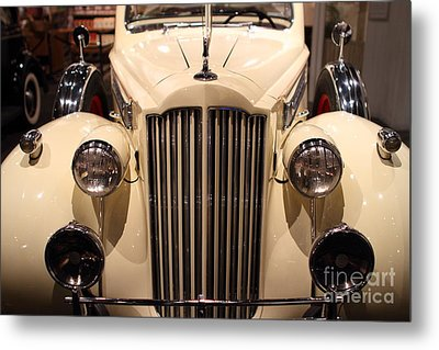 1939 Packard Super Eight Phaeton - 7d17407 Metal Print by Wingsdomain Art and Photography