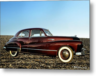 1948 Buick Eight Super Metal Print by Bill Cannon