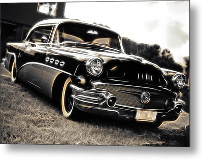 1956 Buick Super Series 50 Metal Print by Phil 'motography' Clark