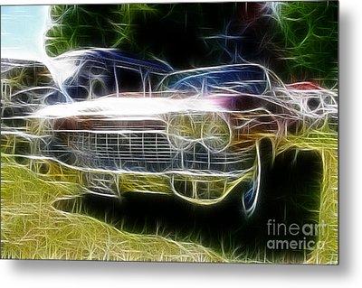 1962 Caddy Cadillac Metal Print by Paul Ward