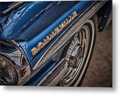 1962 Pontiac Metal Print by James Woody