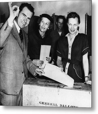 1962 Presidential Election. Senator Metal Print by Everett