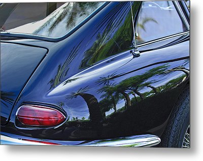 1963 Apollo Taillight Metal Print by Jill Reger