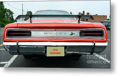 1970 Dodge Coronet Super Bee Metal Print by Paul Ward