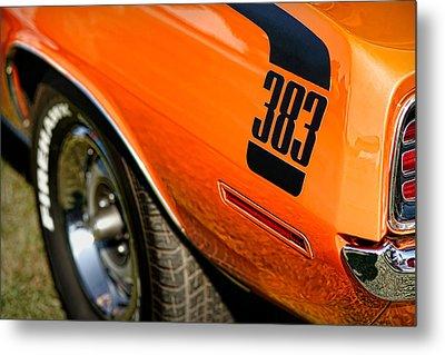 1970 Plymouth Cuda Barracuda 383 Metal Print by Gordon Dean II