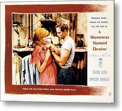 A Streetcar Named Desire, Vivien Leigh Metal Print by Everett