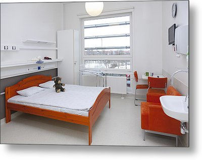 Accommodation For Patients And Families Metal Print by Jaak Nilson
