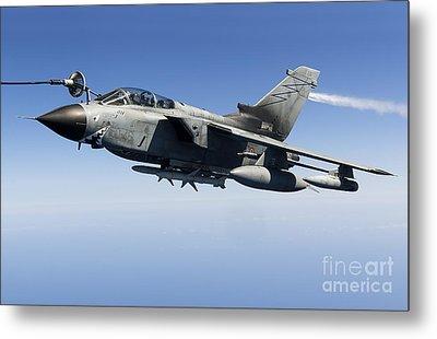 An Italian Air Force Tornado Ids Metal Print by Gert Kromhout