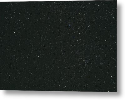 Cassiopeia Constellation Metal Print by John Sanford
