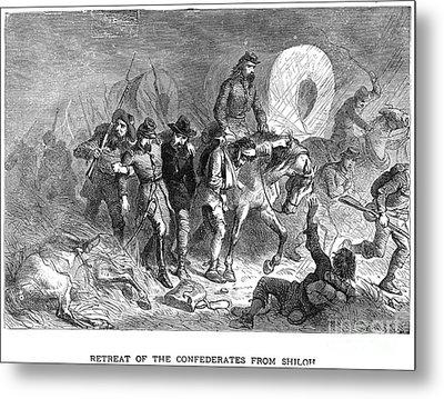 Civil War: Shiloh, 1862 Metal Print by Granger