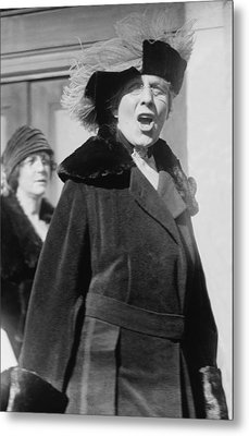 First Lady Florence Harding 1860-1924 Metal Print by Everett