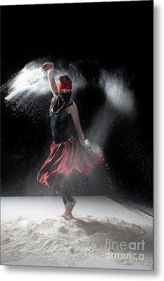Flour Dancer Series Metal Print by Cindy Singleton