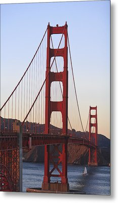 Golden Gate Bridge San Francisco Metal Print by Stuart Westmorland