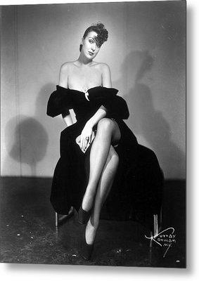 Gypsy Rose Lee (1913-1970) Metal Print by Granger