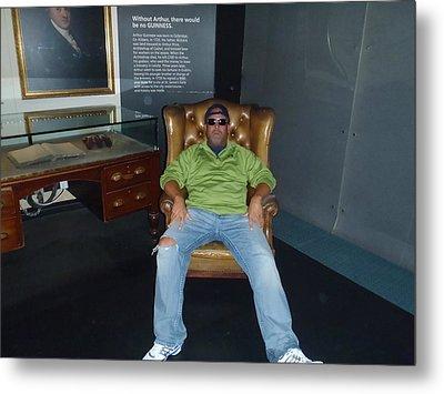 I Barry R Jones Jr Will Now Be The Poster Boy For Jeffery Johnson Regional Pools  Regional Stucco Metal Print by Barry R Jones Jr