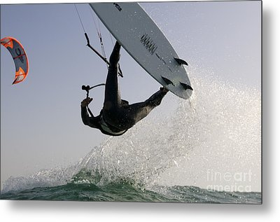 Kitesurfing Board Metal Print by Hagai Nativ