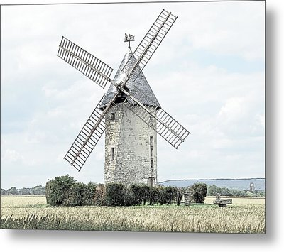 Largny Mill Largny Sur Automne France Metal Print by Joseph Hendrix