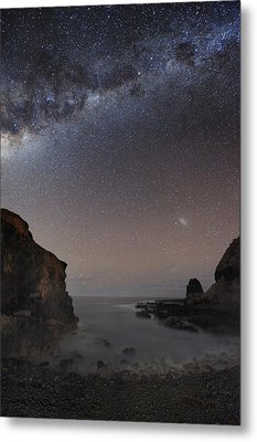 Milky Way Over Cape Schanck, Australia Metal Print by Alex Cherney, Terrastro.com