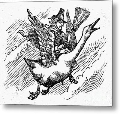 Mother Goose Metal Print by Granger