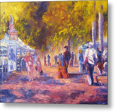 Promenade Metal Print by Terry  Chacon