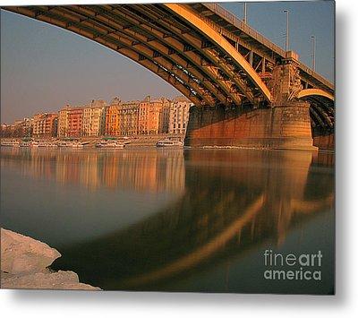 The Bridge Metal Print by Odon Czintos