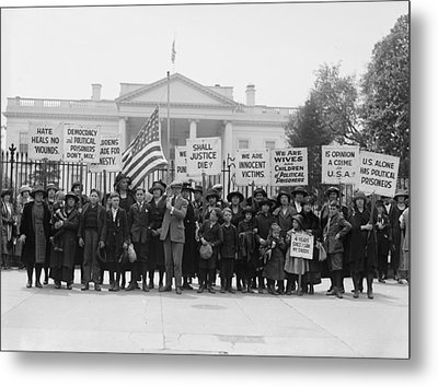 The Espionage Act Of 1917 And Sedition Metal Print by Everett