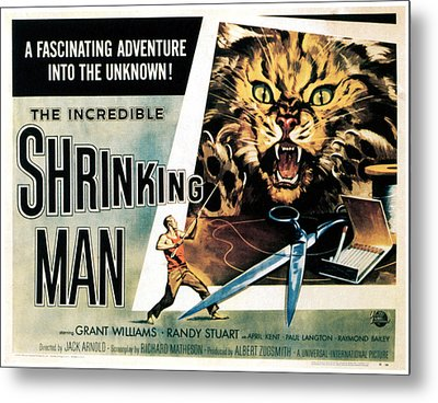 The Incredible Shrinking Man, 1957 Metal Print by Everett