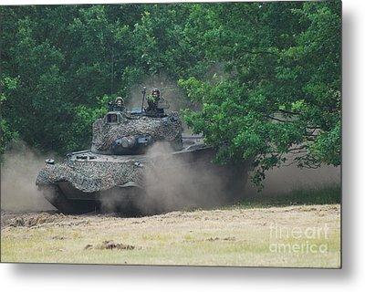 The Leopard 1a5 Main Battle Tank Metal Print by Luc De Jaeger