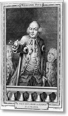 William Pitt (1708-1778) Metal Print by Granger