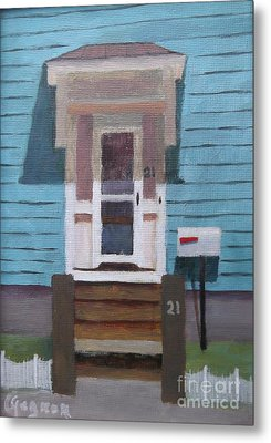 21 Wonson St Metal Print by Claire Gagnon
