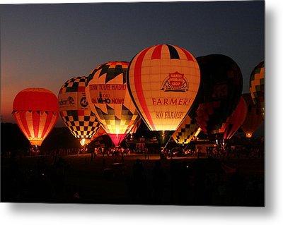 Balloons Metal Print by Rick Rauzi
