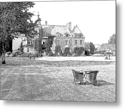 Chateau De Saint Paterne Normandy France  Metal Print by Joseph Hendrix
