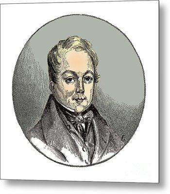 François Magendie, French Physiologist Metal Print by Science Source